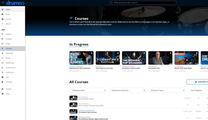 drumeo-courses