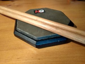 My drum practice pad