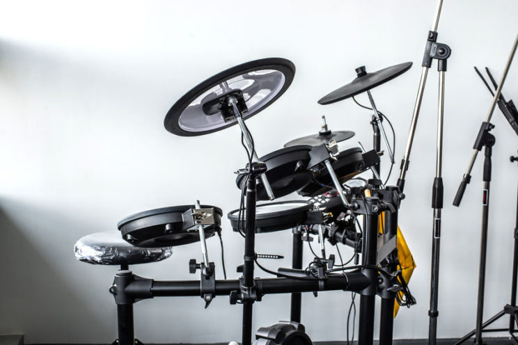 double bass electronic drum sets
