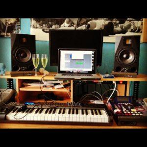 audio recording - drums