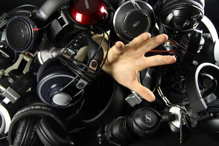 electronic drum headphones