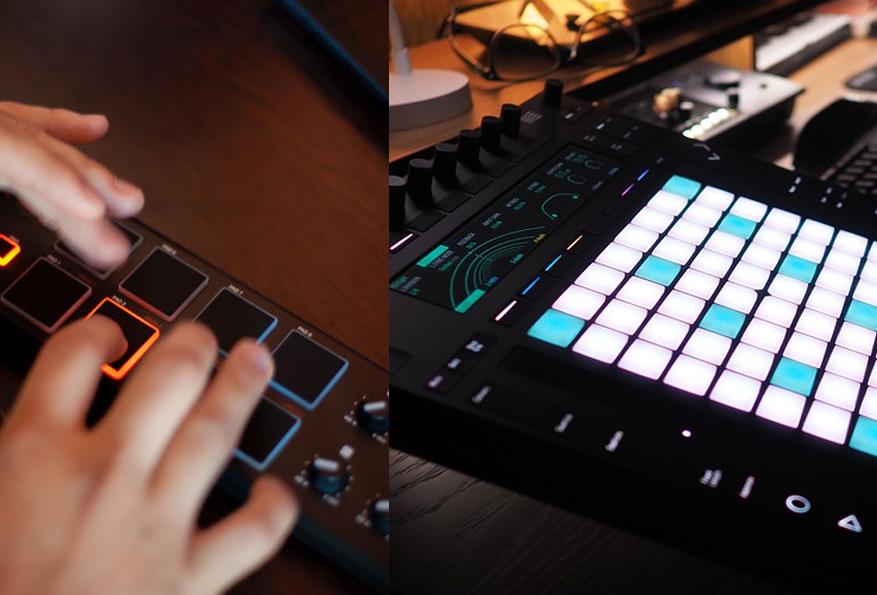 MIDI-drum-pads