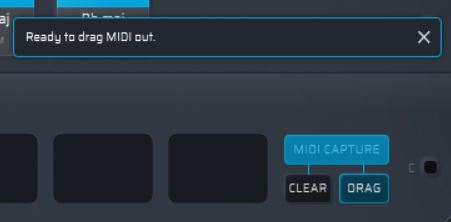 drag-MIDI