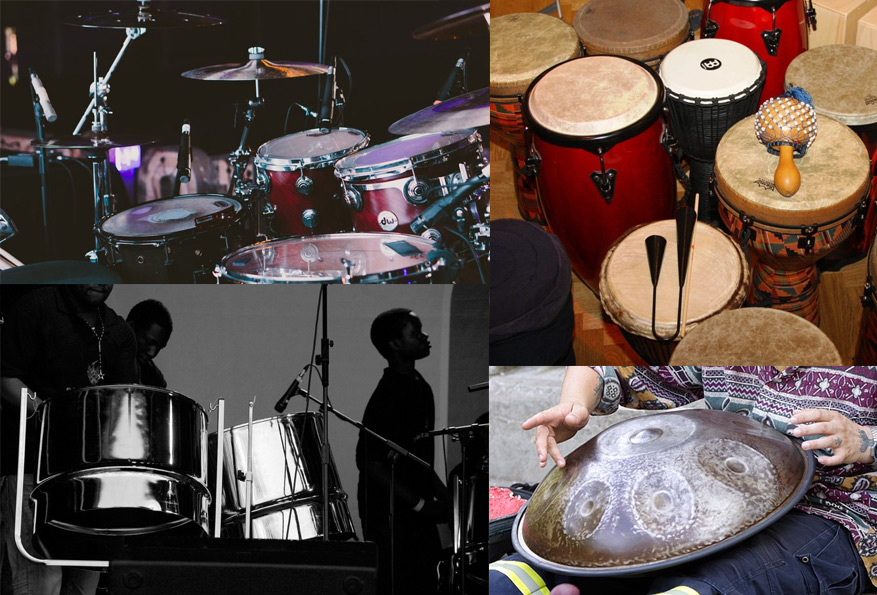 types-of-drums