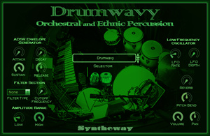 Drumwavy Orchestral and Ethnic Percussion