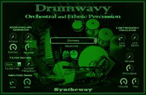 DrumwavyOrchestral and Ethnic Percussion