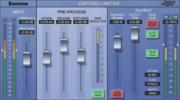 2. Oxford Limiter V3 (Paid)